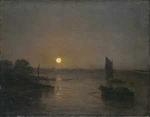 Moonlight: A Study at Millbank, JMW Turner, 1797, Tate